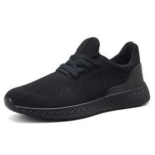 2020 nouvelle lumière grande taille 39-48 course hommes chaussures noir chaussures de course hommes respirant Fitness rouge baskets gris Sport chaussures hommes
