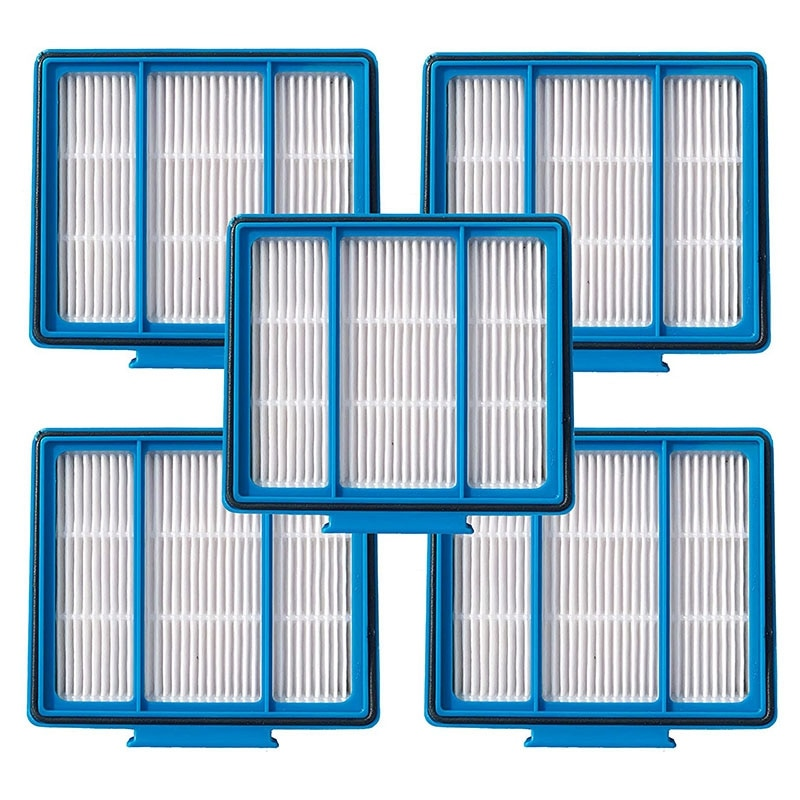 5Pcs Replacement HEPA Filter Compatible for Shark ION Robot Fit for Shark IQ Robot R101AE RV1001AE UR1005AE
