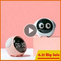 Пиксельные часы-будильник