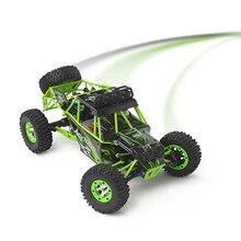 Wltoys 12428 Rc 자동차 4WD 2.4Ghz 112 무선 제어 크롤러 오프로드 자동차 모델 완구 LED 라이트와 고속 50 km/h 차량