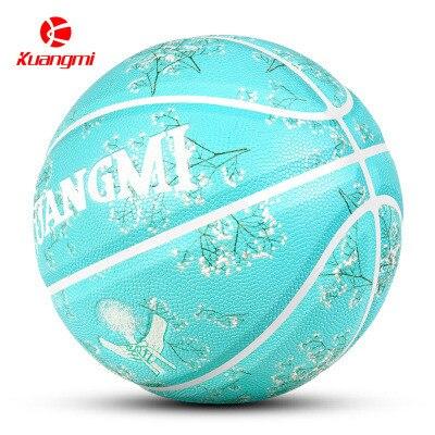 Знаменитости Баскетбол полиуретан Баскетбол Роза Гравировка онлайн 67 индивидуальный подарок розовый Баскетбол гравировка Бир