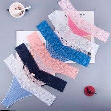 Cadeau de noël coton flocons de neige blanc femmes Sexy tongs G-string sous-vêtements culottes slips pour dames t-back 3 pcs/lot zhx13