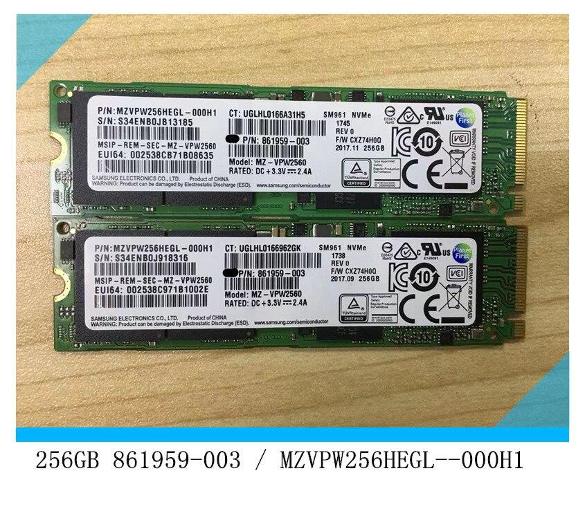 شحن مجاني ل 256GB NVMe SSD - 861959-003 / MZVPW256HEGL-000H1