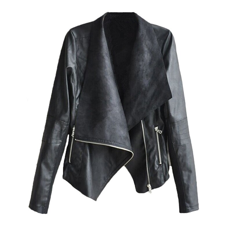 New Arrival Winter Autumn Motorcycle Leather Jackets Yellow Black Biker Jacket Leather Coat Slim PU Jacket Women Plus Size classical men leather jacket lapel full motorcycle slim cool pu jackets black white coat autumn winter clothing moto