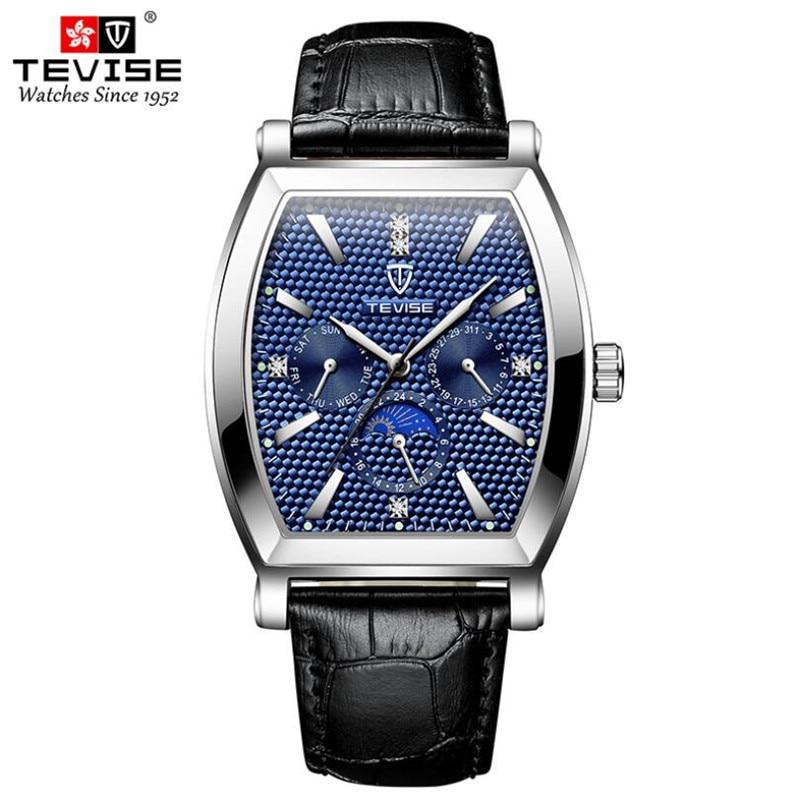 TEVISE Diamond Dial Men Watch Top Brand Luxury Quartz Watch Men Fashion Military Waterproof Sport Wa