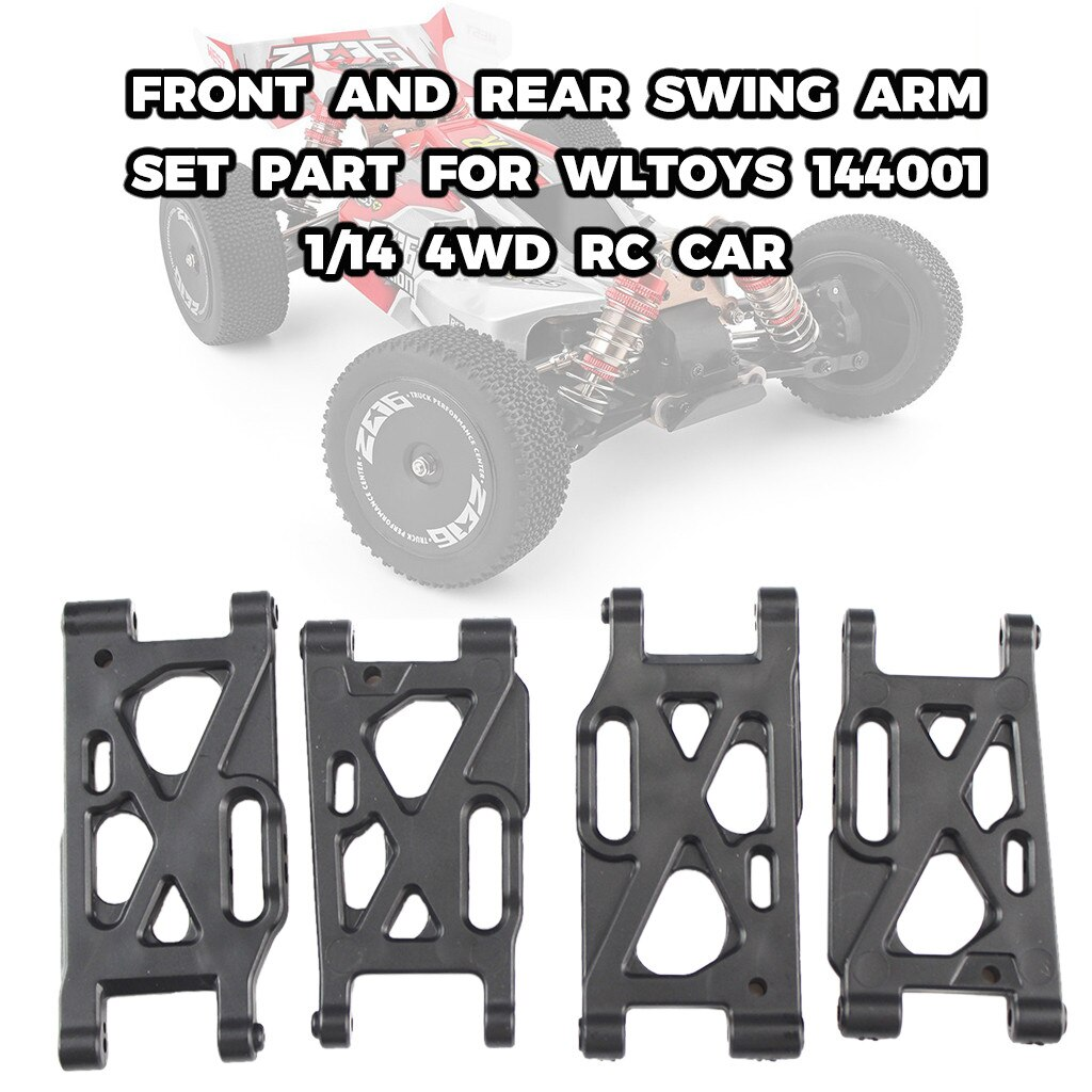 RC Car Accessories RC Parts Front And Rear Swing Arm Set Part For WLtoys 144001 1/14 4WD RC Car Toys for boy детские игрушки #11