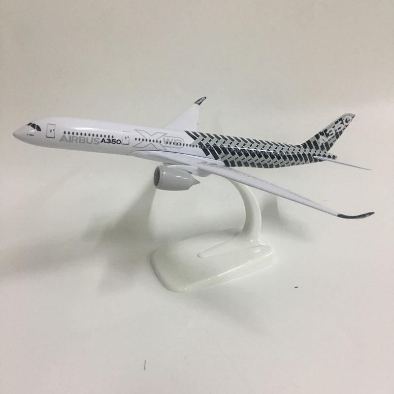 JASON TUTU 20cm Original model Airbus A350 Plane Model Airplane Model Aircraft Model 1:300 Diecast Metal planes toys Gift