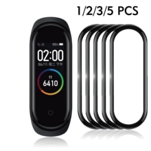 3D Screen Protector for xiaomi mi band 4 5 Protective Glass Miband 4 Full Curved Edge Scratch-resistant for xiomi mi band 5 Film