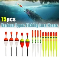 fishing floats gear set fishing float suitable for all kinds of fishing bobbers rod long float slips fishing tools accessories
