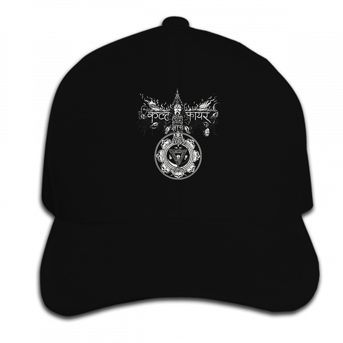 Print Custom Baseball Cap CULT OF FIRE REPRINT BLACK Hat Peaked cap