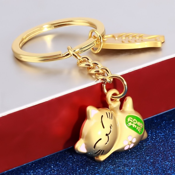 Delysia King  Lucky cat keychain