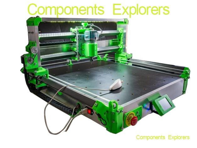 RS-CNC32 التي أنشأتها Romaker ، وشملت أجزاء مطبوعة