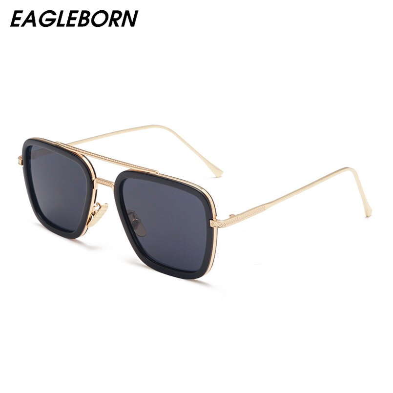 Robert Downey Jr. Fashion Square Sonnenbrille Flache Linse Männer Sonnenbrille Sonnenbrille Sonnenbrille Vintage Luxus Tom Ford Nicki Minaj