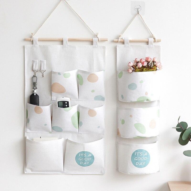 New Multi-Storey Hanging Bag Oxford cloth Waterproof Wall Door Storage Bags Cloth Organizer