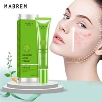 danshen acne scar cream anti acne treatment fade acne spots pimples oil control cleansing pores moisturizing whitening skin care