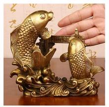 Exquisite furnishing articles brass the fish jump Longmen