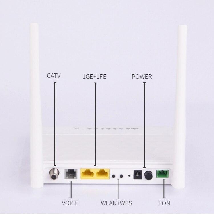1 قطعة BTPON XPON GPON ONT 1GE CATV Wifi CATV راوتر 1CATV + 1GE + 1FE + TEL PON CATV EPON ONU BT-211XR