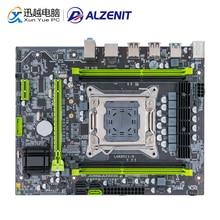 Alzenit X79M-CE5 placa-mãe para intel x79 lga 2011 xeon e5 suporte ecc reg ddr3 128 gb m.2 nvme usb3.0 M-ATX servidor mainboard