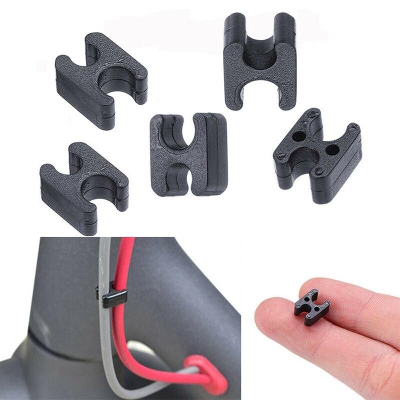 Зажим-органайзер для кабеля, зажимы для Xiaomi Mijia M365, запчасти для электрического скутера, скейтборда, спортивных скутеров на открытом воздухе...