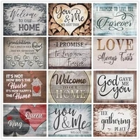diamond painting full drill diy love paradise house rhinestone picture mosaic text diamond embroidery wall decoration for home