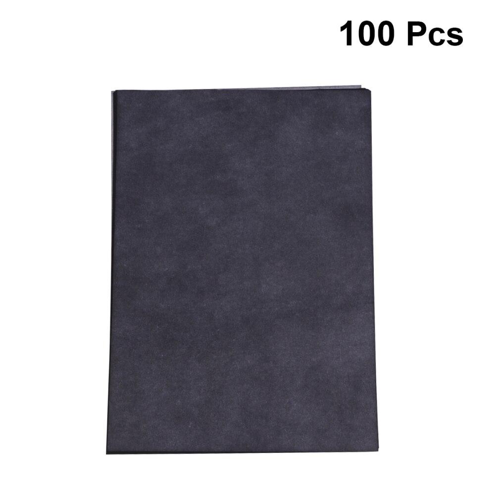 100 шт., копировальная бумага, графит, углеродная бумага, бумага для рисования, карбоновая бумага с покрытием, копировальная бумага, фототрафа...