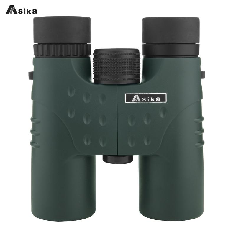 Asika militar HD 12x32 binoculares telescopio de caza profesional Zoom de visión de alta calidad ocular potente compacto impermeable
