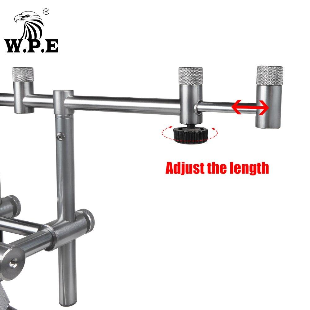 W.P.E rod support carp fishing rod bracket adjustable telescopic fishing rod telescopic folding bracket fishing tackle accessori enlarge