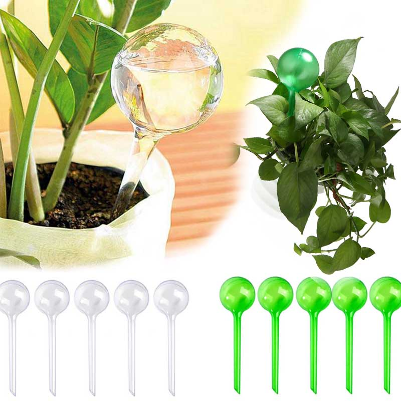 Automatic Drip Irrigation Tool Spikes Automatic Flower Plant Garden Watering System Kit Adjustable Water Self-Watering Device