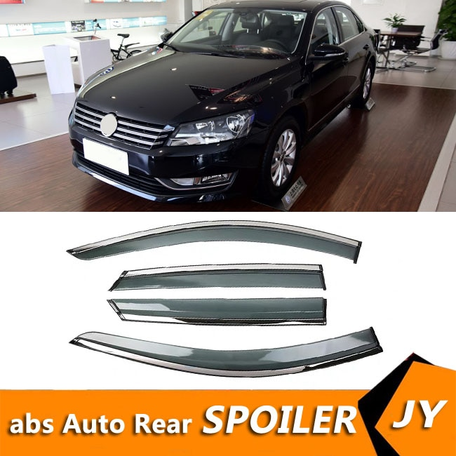 Para Volkswagen Passat 2011-2015 ventana Visor de ventilación tonos Deflector de lluvia...