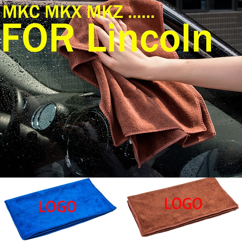Оптовая продажа с фабрики, принадлежности для автомобильных аксессуаров LINCOLN, полотенце для мытья из мягкого волокна