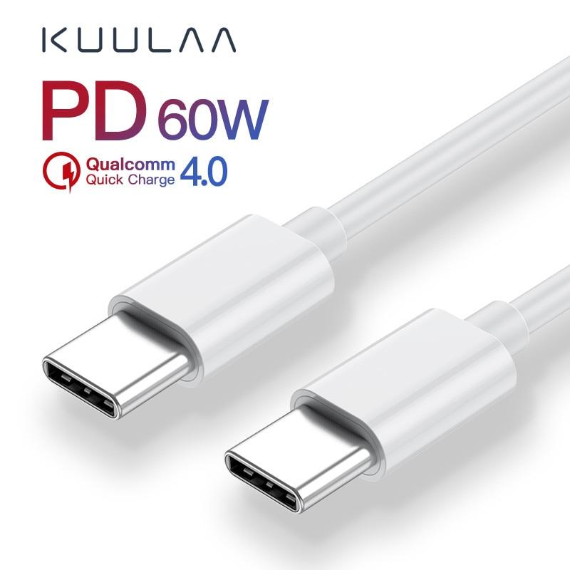 Cable USB tipo C para Xiaomi Mi 10 Pro, Samsung S20, Macbook,...