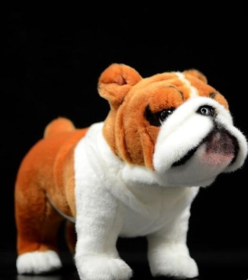 Free Shipping 26cm Simulation Tiger Dog For Children Baby Birthday Gift