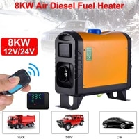 car diesel heater 12v24v 8kw lcd display remote control heating low fuel consumption for car trucks ships trailers rvs campers