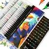 72 PCS צבעים אמנות סמן צבעי מים מברשת עטים עבור בית ספר אספקת אמנות ציור כתיבה ספרי צביעה מנגה קליגרפיה