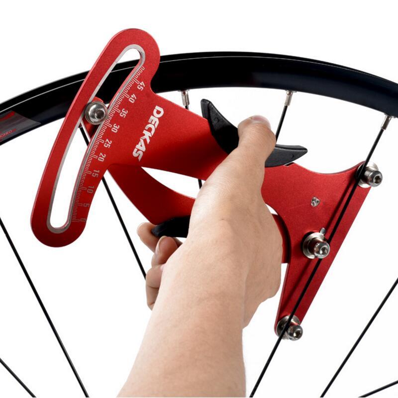 Bike Indicator Attrezi Meter Tensiometer Bicycle Spoke Tension Wheel Builders Tool Bicycle Spoke Repair Tool