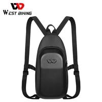 west biking 3d hard shell cycling backpack quality eva waterproof bicycle bag sport ultralight racing mtb road bike backpack