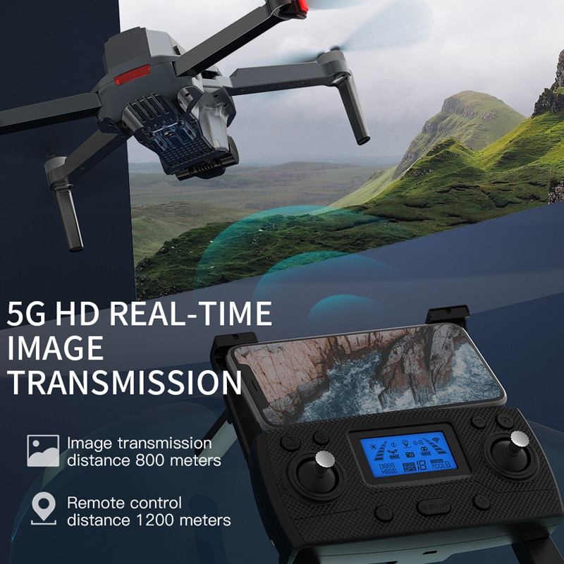 ZLL SG907 MAX GPS Drone 4K Camera 5G FPV WiFi With 3-Axis Gimbal ESC 25 Minutes Flight Brushless RC Quadcopter Profesional Dron 2