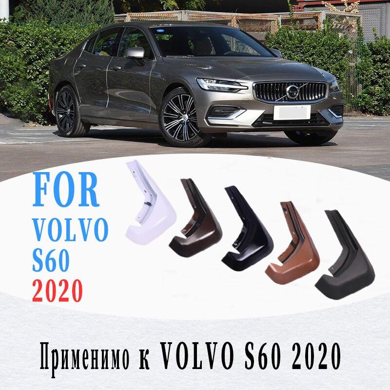 Pára-lamas para novo volvo s60 pára-lamas respingo volvo s60 mud flaps guarda fender lama aba acessórios do carro em 2020