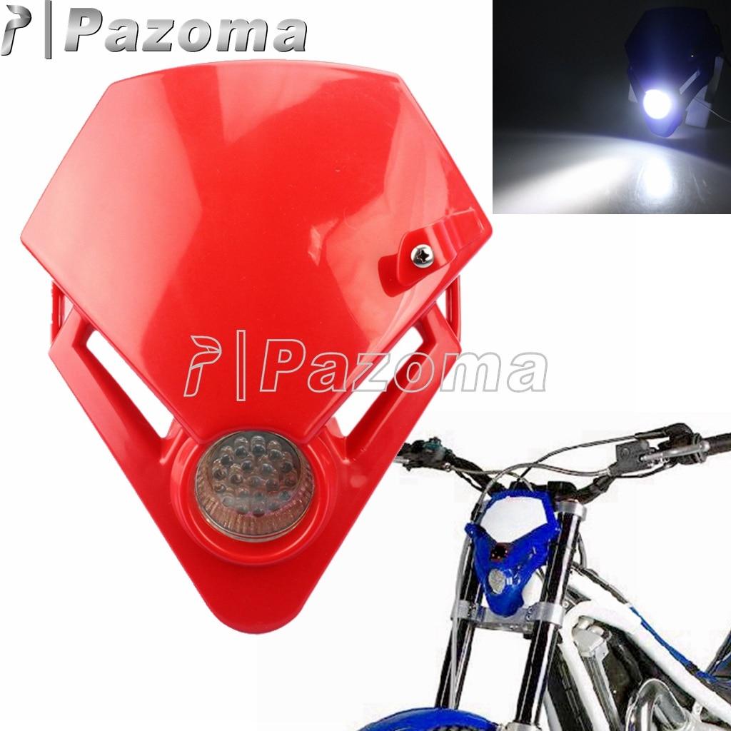Mini faro LED para motocicleta doble deporte tierra para moto de Enduro...