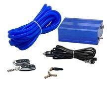 Boîte de commande de contrôleur de pompe à vide électrique universelle pour la Valve de découpe de silencieux de tuyau déchappement