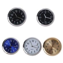 Universal Car Clock Stick-On Electronic Watch Dashboard Noctilucent Decoration For SUV Cars dropship