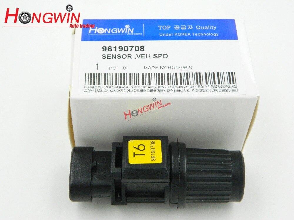 OEM NO:96190708 Manual Sensor de velocidad de transmisión encaja Chevrolet Aveo/Aveo5 1.6L Daewoo Lanos 1.6L/Nubira 2.0L/Leganza 2.2L 99-08