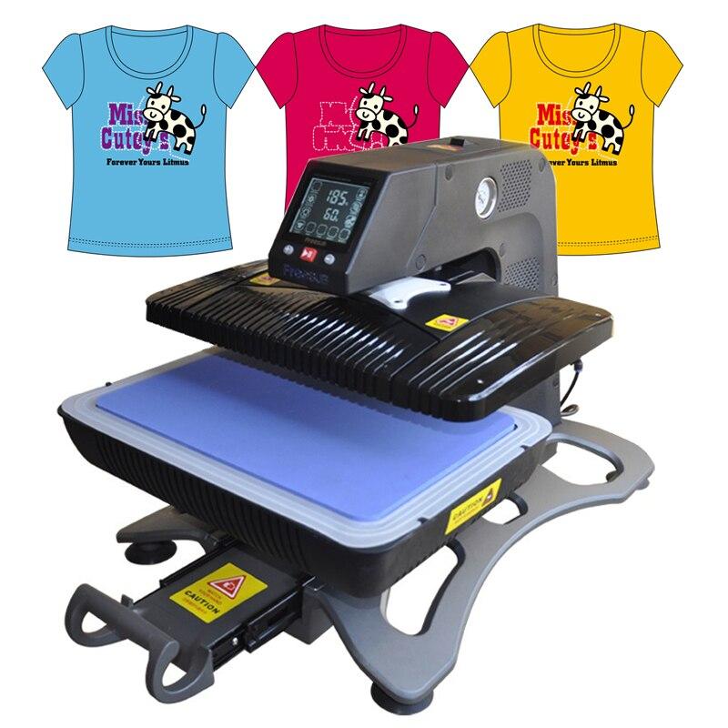 Термотрансферный принтер, автоматическая 3D печать, сублимационный пресс, многофункциональный принтер для футболок, шляп, кружек, ST-420