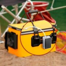 New 5V Portable Air Pump Oxygenator for Aquarium Fish Tank Foldable EVA Fishing Life Bait Bucket w/ Solar Power with Air Stones