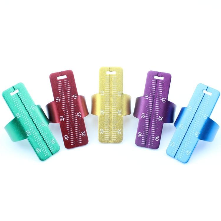 1pcs Dental Ring Ruler Dentist Instrument Ruler Dental Finger Ring Equipment Measuring Tool Dentist