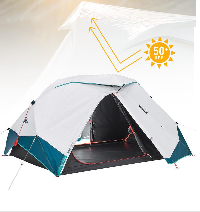 Camping tent outdoor camping thickened rainproof outdoor two person sunscreen shading