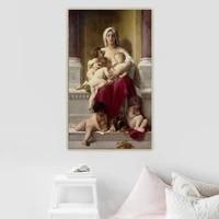 citon william adolphe bouguereau%e3%80%8acharity%e3%80%8bcanvas art oil painting artwork poster picture wall decor home interior decoration