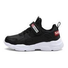ULKNN-chaussures de sport pour garçons   6 enfants 12, 15 ans, 9 enfants, blanc, noir, bleu, chaussures de sport pour étudiants