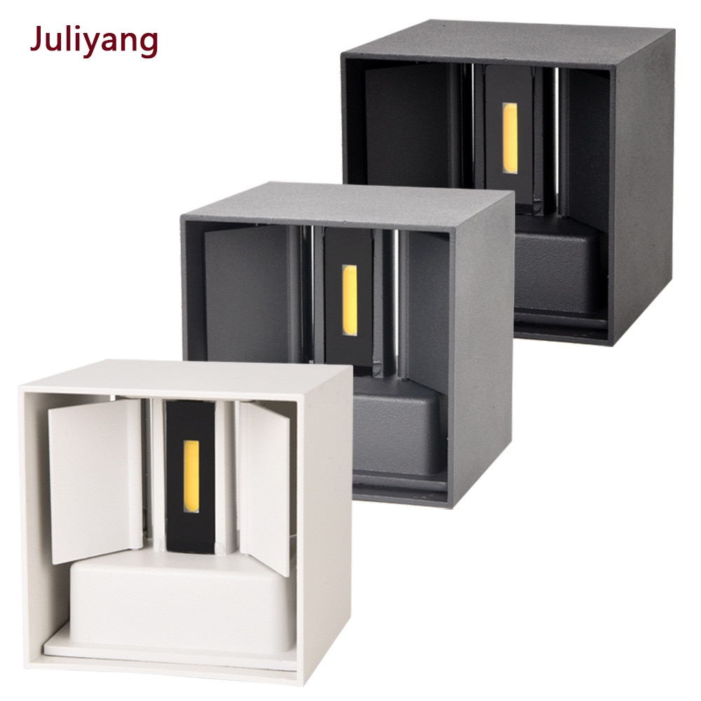 IP65 LED waterproof wall lamps 12W indoor and outdoor adjustable wall light courtyard porch corridor