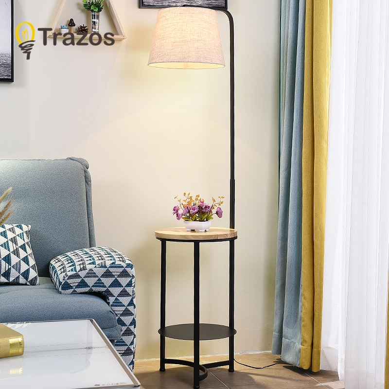 Led الحديثة مصباح أرضي بسيط الدائمة مصباح الفن الديكور الشمال نمط لغرفة المعيشة غرفة نوم غرفة الدراسة ضوء